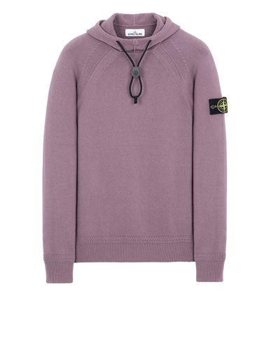 STONE ISLAND 550A7 Sweater Man Magenta USD 443