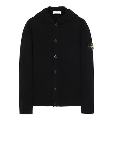 STONE ISLAND 506A3 Sweater Man Black EUR 349