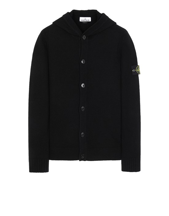 STONE ISLAND 506A3 Sweater Man Black