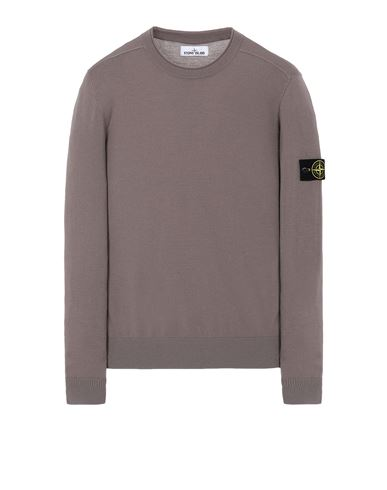 STONE ISLAND 511A1 Sweater Man Mud EUR 203