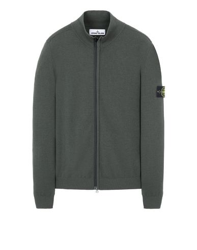 STONE ISLAND 513A1 Sweater Man Musk Green USD 448