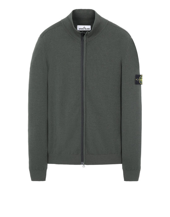 STONE ISLAND 513A1 Sweater Man Musk Green