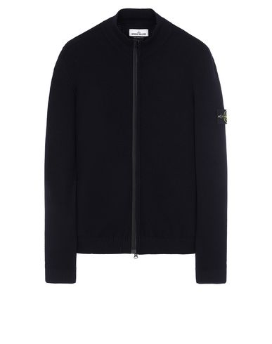 STONE ISLAND 513A1 Sweater Man Blue USD 448