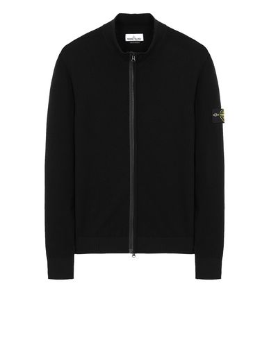 STONE ISLAND 513A1 Sweater Man Black EUR 263