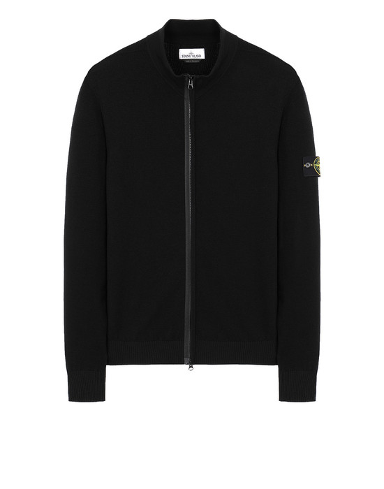 STONE ISLAND 513A1 Sweater Man Black