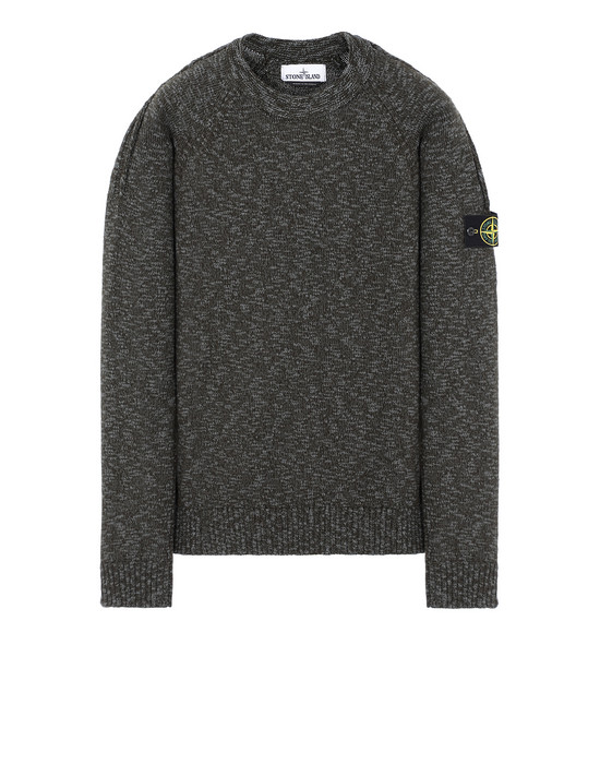 STONE ISLAND 573D3 Sweater Man Sage Green