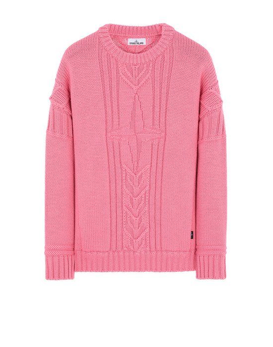 STONE ISLAND 525B4 Sweater Man Cyclamen