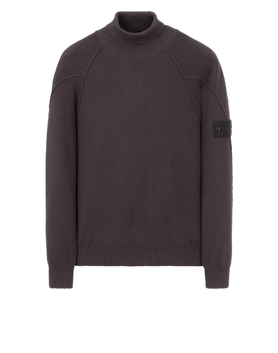 STONE ISLAND 582FA GHOST PIECE Sweater Man Dark Brown