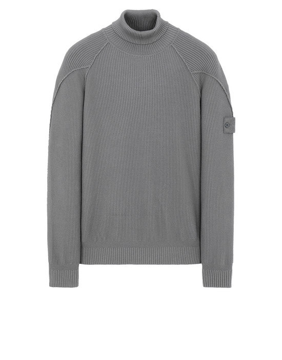 STONE ISLAND 582FA GHOST PIECE Sweater Man Dark Grey