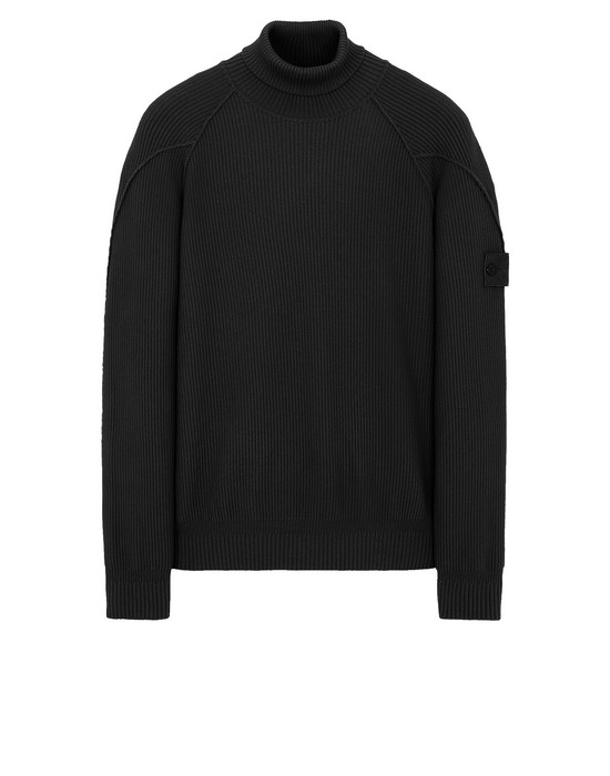STONE ISLAND 582FA GHOST PIECE Sweater Man Black