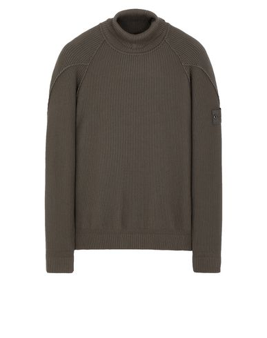 STONE ISLAND 582FA GHOST PIECE Sweater Man Military Green EUR 319