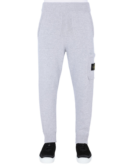 KNIT TROUSERS Man 558A7 Front STONE ISLAND