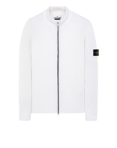 STONE ISLAND 523C2 Sweater Man Natural White USD 495