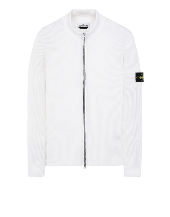 STONE ISLAND 523C2 Sweater Man Natural White