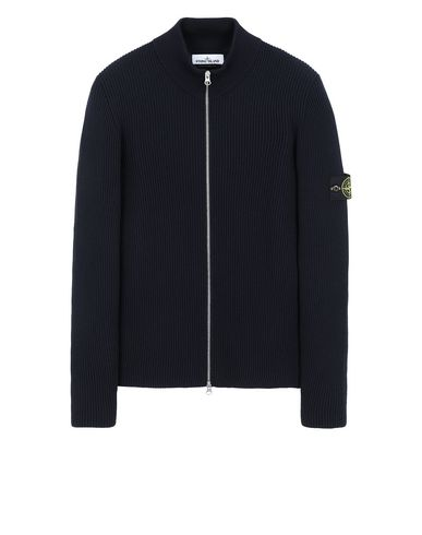 STONE ISLAND 523C2 Sweater Man Blue USD 407