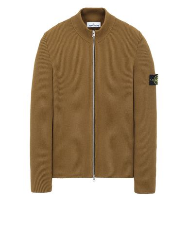 STONE ISLAND 523C2 Sweater Man Tobacco EUR 424