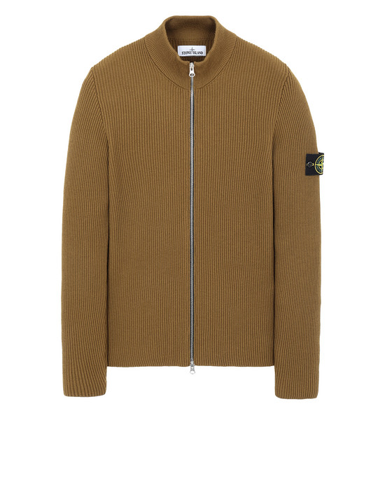 STONE ISLAND 523C2 Sweater Man Tobacco