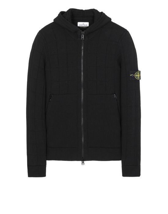 STONE ISLAND 579B7 Sweater Man Black