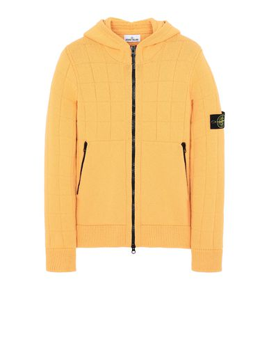 STONE ISLAND 579B7 Sweater Man Orange EUR 539