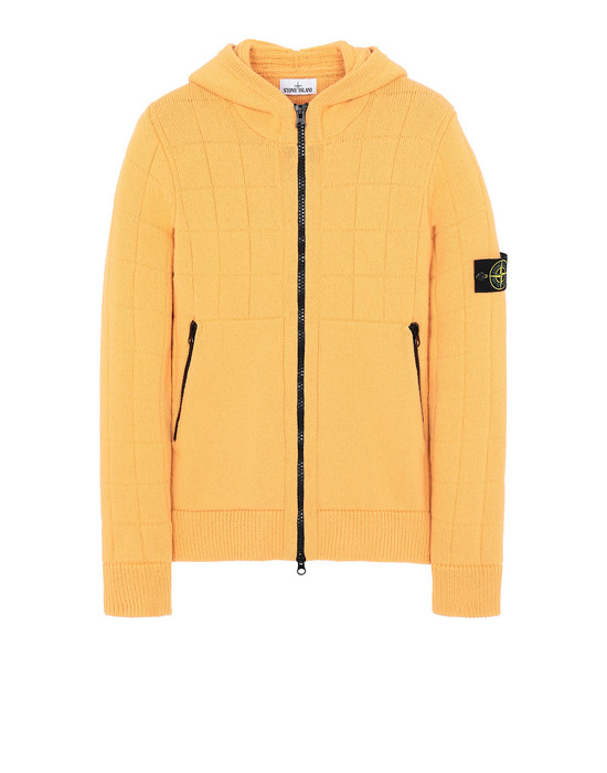 STONE ISLAND 579B7 Sweater Man Orange