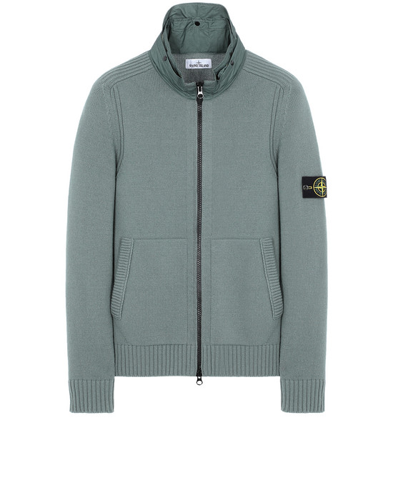 STONE ISLAND 551A3 Sweater Man Sage Green
