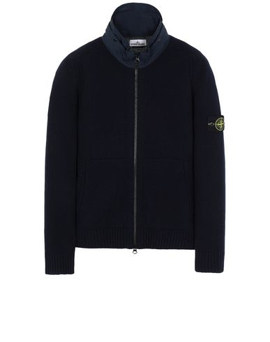 STONE ISLAND 551A3 Sweater Man Blue USD 330