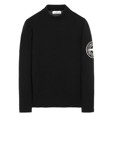 STONE ISLAND 592C7 Sweater Man Black USD 205