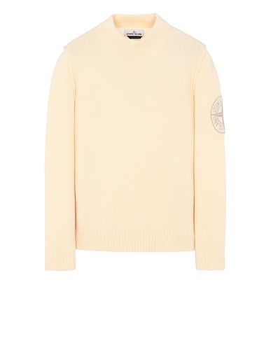 STONE ISLAND 592C7 Sweater Man Butter USD 293