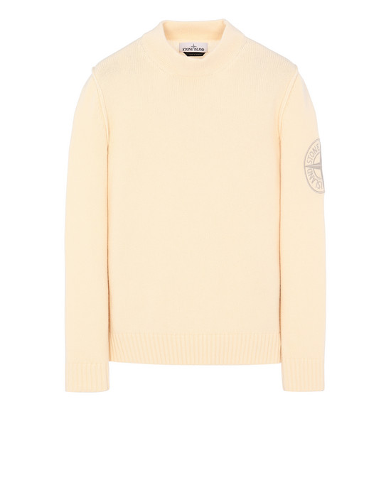 STONE ISLAND 592C7 Sweater Man Butter