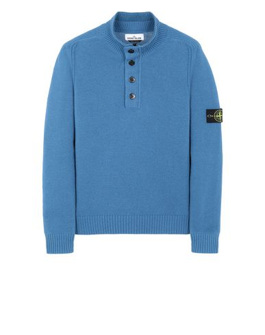 STONE ISLAND 532A3 Sweater Man Periwinkle USD 288