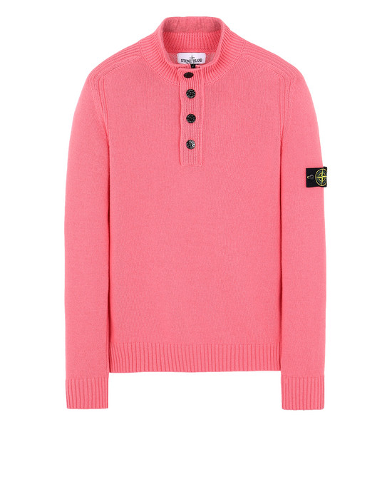 STONE ISLAND 532A3 Sweater Man Cyclamen