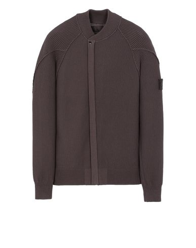 STONE ISLAND 583FA GHOST PIECE Sweater Man Dark Brown EUR 589