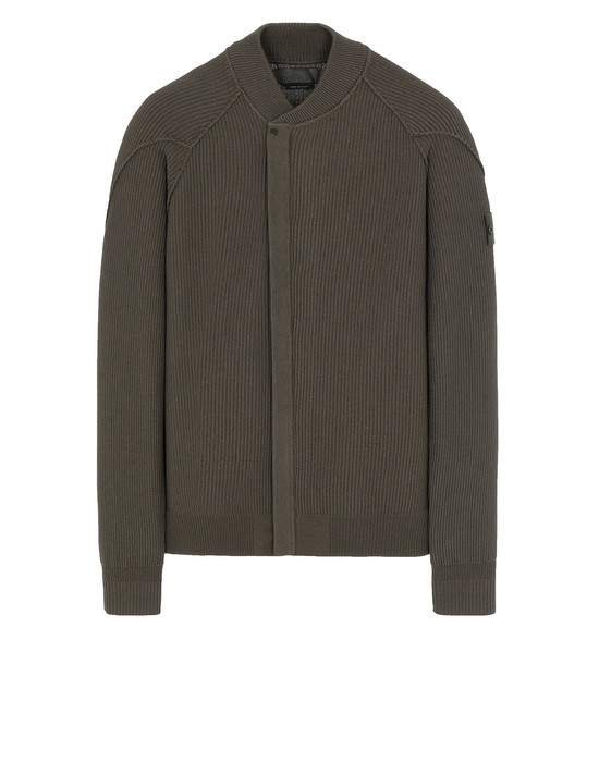STONE ISLAND 583FA GHOST PIECE Sweater Man Military Green