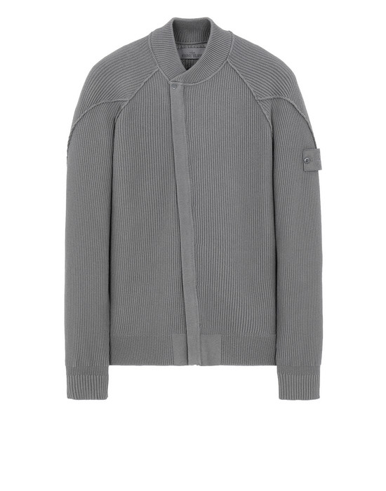 STONE ISLAND 583FA GHOST PIECE Sweater Man Dark Grey