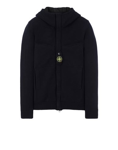 STONE ISLAND 559D1 STRETCH WOOL WITH WINDSTOPPER™ AND PRIMALOFT® INSULATION Jersey Hombre Azul EUR 595
