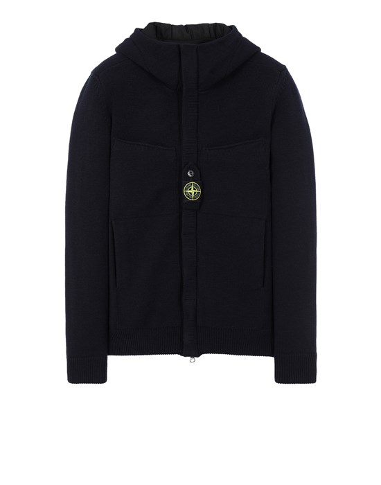 Sweater 559D1 STRETCH WOOL WITH WINDSTOPPER™ AND PRIMALOFT® INSULATION STONE ISLAND - 0
