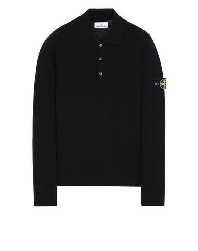 STONE ISLAND 512A1 Sweater Man Black EUR 221