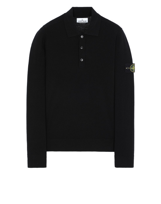 STONE ISLAND 512A1 Sweater Man Black
