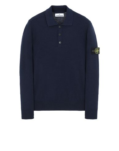 STONE ISLAND 512A1 Sweater Man Marine Blue USD 373