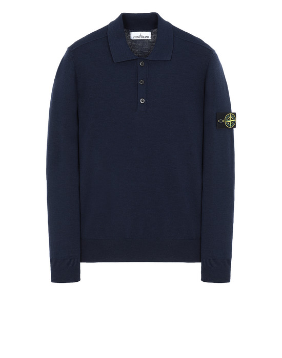 STONE ISLAND 512A1 Sweater Man Marine Blue