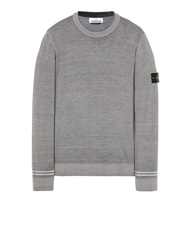 STONE ISLAND 555A8 FAST DYE + AIRBRUSH Jersey Hombre  EUR 207