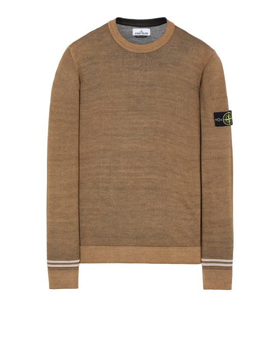 Sweater Man 555A8 FAST DYE + AIRBRUSH Front STONE ISLAND