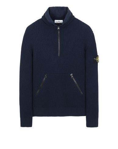 STONE ISLAND 518C2 Sweater Man Marine Blue USD 522