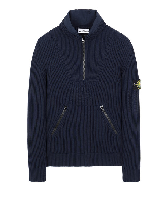 STONE ISLAND 518C2 Sweater Man Marine Blue