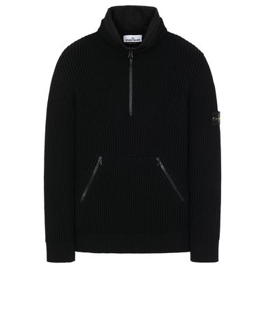 STONE ISLAND 518C2 Sweater Man Black USD 718