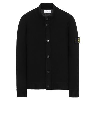STONE ISLAND 575B6 Sweater Man Black USD 401