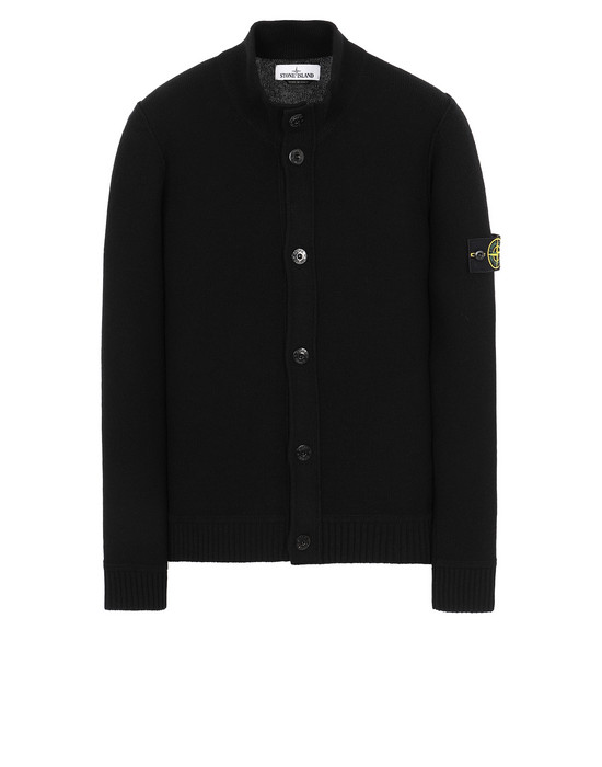 STONE ISLAND 575B6 Sweater Man Black