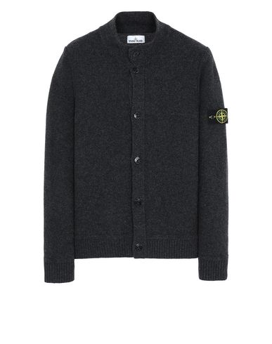 STONE ISLAND 575B6 Sweater Man Steel Grey EUR 399