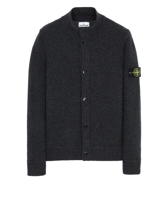 STONE ISLAND 575B6 Sweater Man Steel Grey