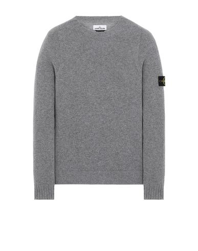 STONE ISLAND 505A3 Sweater Man Grey EUR 255